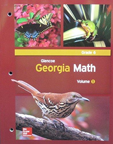 Glencoe Georgia Math, Grade 6, Volume 1
