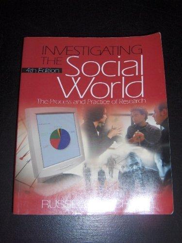 Investigating the Social World / Dictionary of Statistics & Methodology bundle