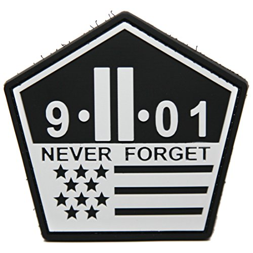11 Memorial Patch Rubber Tactical