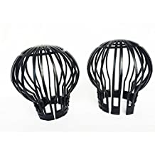 Gutter Guard Filter Down Pipe Balloon Filter to Block Leaf Debris into Downspout, Pack of 2