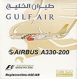"1:400 Phoenix Model Airbus A330-200 Gulf Air ""Grand Prix 2008"" Reg #A9C-KB (pre-painted/pre-built) offers"