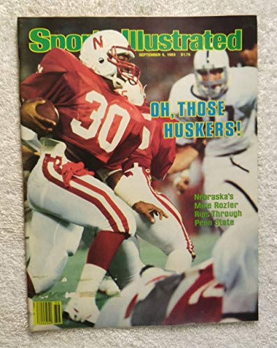Mike Rozier - Nebraska Cornhuskers - Sports Illustrated - September 5, 1983 - College Football - SI