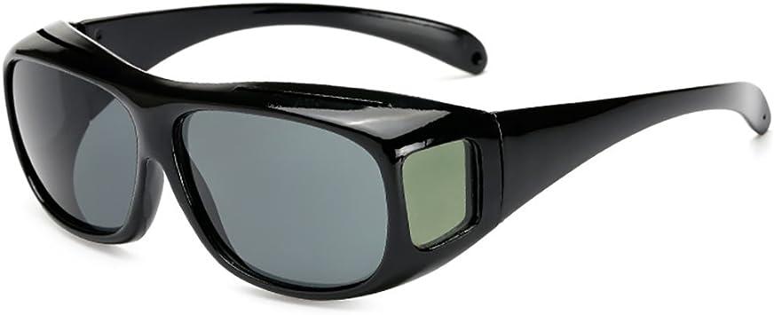 Fit Over Polarized Prescription Glasses Sunglasses Cover All Drive Wrap Around