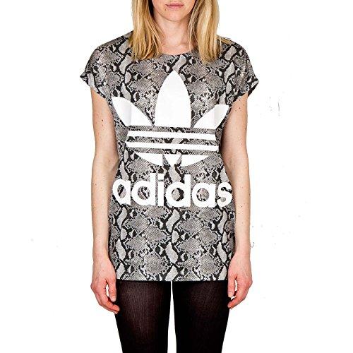 Adidas Hy trefoil t py white, Größe Adidas:36