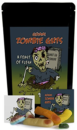 Zombie Guts Gummies - Unique Christmas Birthday Girl, Boy & Teens Candy Gift Funny Unique Christmas Stocking Stuffer Gag Gift for Teens, Girls, Boys and Kids