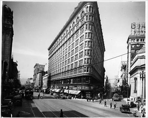 Photographic Print of O Farrell Street In San Francisco, - Farrell O Street San Francisco