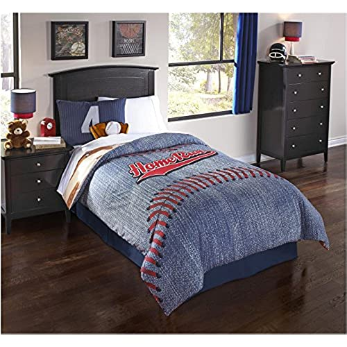 Hallmart Kids Home Run 5 Pc Twin Comforter Set