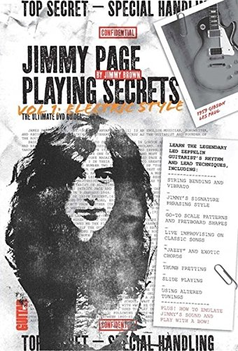 Guitar Playing Dvd (Guitar World -- Jimmy Page Playing Secrets, Vol 1: Electric Style (DVD))
