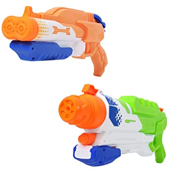 2 Pack Súper Pistola de Agua Water Blaster 1000CC Alta ...