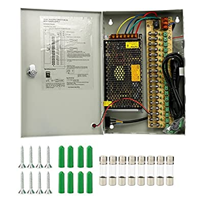 CCTV Distributed Power Supply Box for Security Surveillance Camera DC 12V