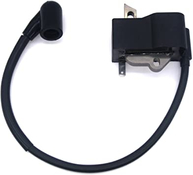PARTSRUN #530039224#545046701 Ignition Coil Module for Husqvarna 124 125 128 Line Trimmer Brush Cutter,ZF-IG-A00190