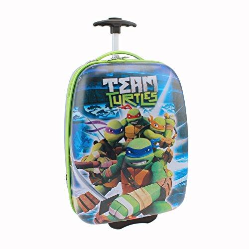 Nickelodeon Teenage Mutant Ninja Turtles Team Hard Shell Luggage, Blue, One Size - Teenage Mutant Ninja Turtle Suit