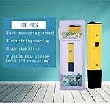 Digital PH Meter with PH Solution Buffer Powder