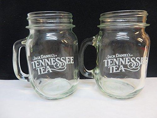 Jack Daniels Tennessee Tea Glass Mug (Jack Daniels Glass Mug)