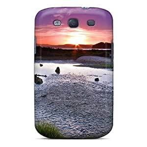 Ideal Jeffrehing Case Cover For Galaxy S3(lake Sheep At Twilight), Protective Stylish Case