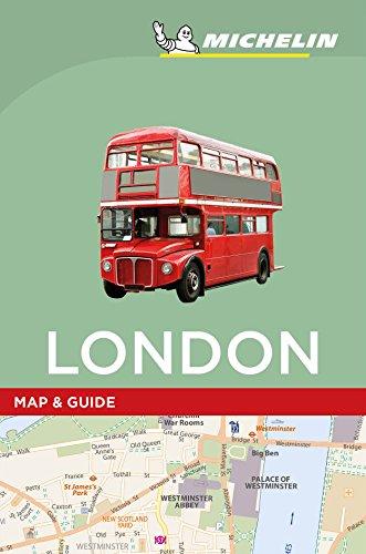 Michelin London Map & Guide (Michelin Map & Guide Series) (London Map Guide)