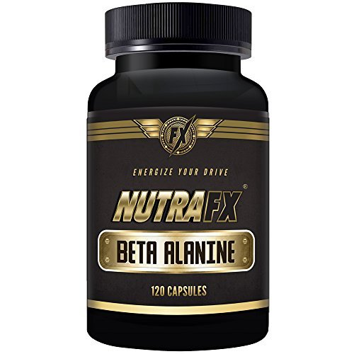 Nutrafx Beta Alanine 800 Mg 120 Capsules Pre Workout Beta Alanine Muscle Building Weight Gain Pills
