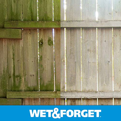 Wet and Forget Moss, Mold, Mildew & Algae Stain Remover, 1 Gallon Concentrate Make 6 Gallons - 2 Pack by WET & FORGET (Image #5)