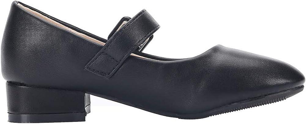 EIGHT KM EKM7010 Mary Jane Fille Chaussures /étudiants Talon Bas de Princesse Fille Chaussures pour Mariage et Formel Party Chaussures