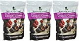 Brookside (3) 23 oz Bags of Dark Chocolate Crunchy Clusters Shipped In An Insulated Container With Ice Pack