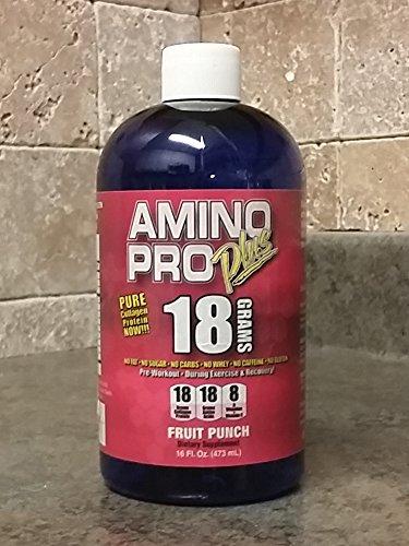 Amino Pro Plus Fruit Punch 16oz