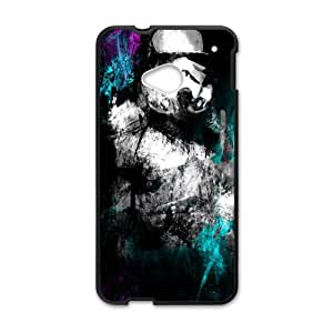 Black mysterious man Cell Phone Case for HTC One M7