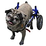 Dog Wheelchair - For Small Dogs 11-25 lbs - By Walkin' Wheels