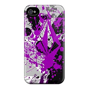 Excellent Hard Phone Cases For Iphone 4/4s With Customized Trendy Splatter Volcom Image TimeaJoyce
