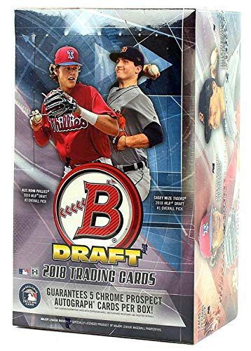 2018 Bowman Draft Baseball Super Jumbo Box (600 Cards: 5 ()