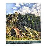 Society6 Na' Pali Spires, Kauai, Hawaii 88'' x 104'' Blanket