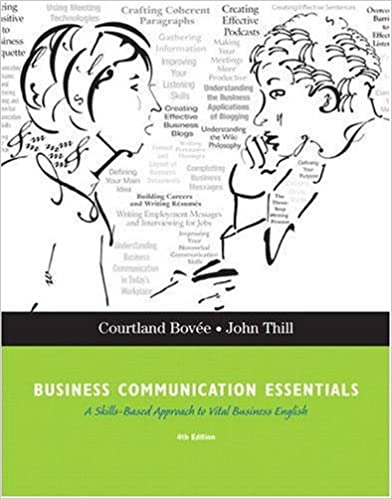 Business communication essentials 4th edition courtland l bovee business communication essentials 4th edition 4th edition fandeluxe Gallery