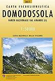 285T Domodossola Wanderkarte: Domodossola - Villadossola - Gravellona Toce - Verbania: BUNT.285T (Wanderkarten 1:50 000)