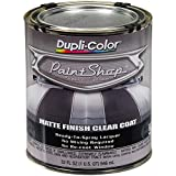 Dupli-Color (BSP307-2 PK 'Paint Shop' Matte Finish Clear Coat Finish System Top Coat - 1 Quart, (Case of 2)