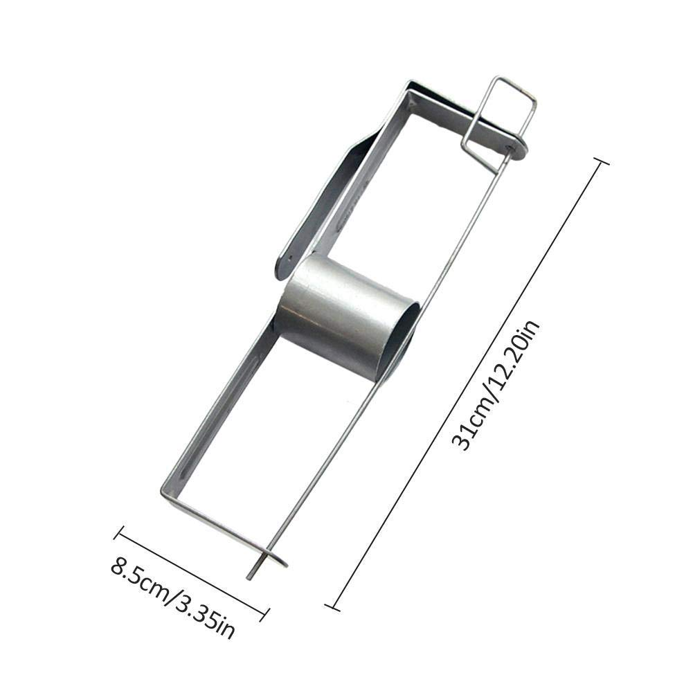 Asdomo Portable Drywall Tape Rack Paper Tape Holder Large Capacity Drywall Tool with Quick Opening Design