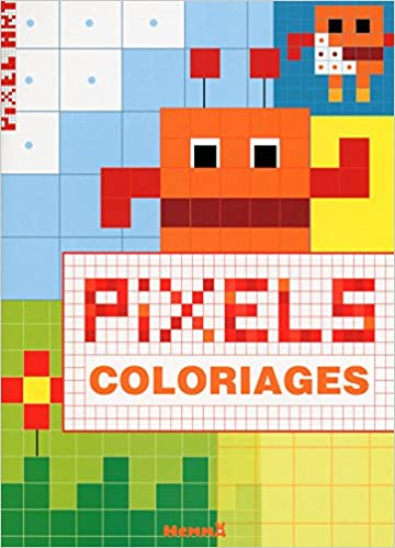Pixel Art Coloriage Amazon Ca N A Books
