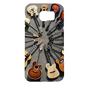 Hipster Guitar Phone Case Cover For Samsung Galaxy s6 Guitar Cool Design