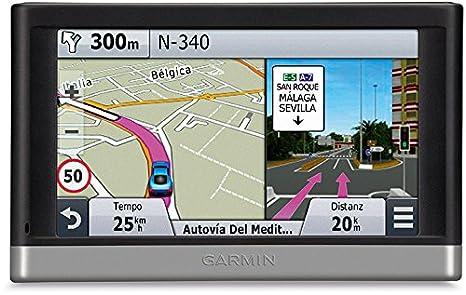 Garmin nüvi 240LMT - Navegador GPS (Flash, Encendedor de cigarrillos, MicroSD (TransFlash