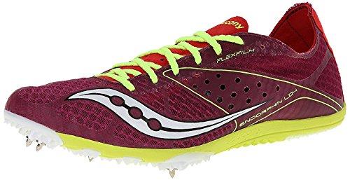 Berry M Track B B 7 Slime Shoe UK EU LD4 Red 5 40 Saucony Endorphin Womens M ZTcAff