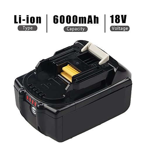 boetpcr-2-packs-60ah-bl1860b-battery-replace-for-makita-18v-battery-lithium-ion-with-led-indicator-bl1860-bl1850-bl1840-bl1830-lxt-400-194204-5-series-cordless-power-tools