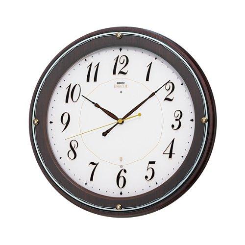 セイコー クロック/SEIKO CLOCK EMBLEM 掛け時計 電波時計 HS545B B00D2YQPDC