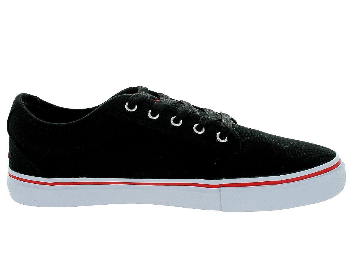 Adio Mens Melbourne Black//Red Skate Shoe 10 Men US