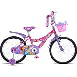 Hero Disney 20T Princess Junior Cycle, Girl's, 11-inches (Capri Pink)