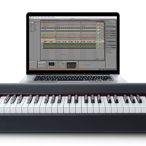 m audio hammer 88 88 key hammer action usb midi keyboard import it all. Black Bedroom Furniture Sets. Home Design Ideas