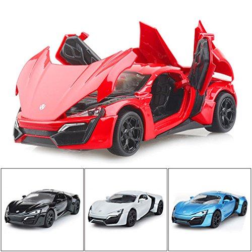 New Lykan Hypersport 1:32 Diecast Model Car w/Sound & Light Alloy Toys Gifts
