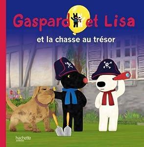"""Afficher """"Gaspard et Lisa n° 9 La chasse au trésor"""""""