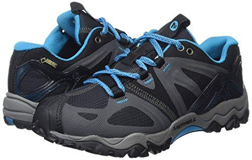 Zapatos Sport Senderismo Mujer Gtx De Sintético Material Grassbow Merrell Black qZTftt