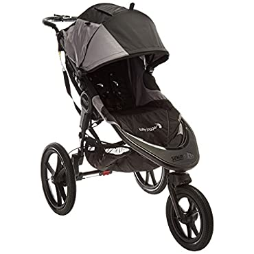 Baby Jogger 2016 Summit X3 Single Jogging Stroller Black/Gray