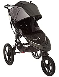 Baby Jogger 2016 Summit X3 Single Jogging Stroller - Black/Gray BOBEBE Online Baby Store From New York to Miami and Los Angeles