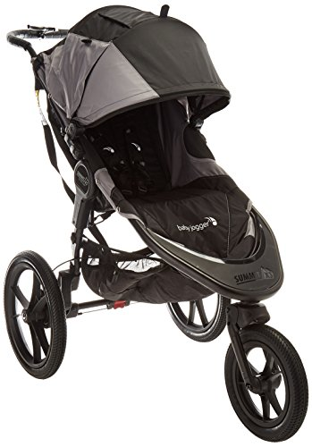 (Baby Jogger 2016 Summit X3 Single Jogging Stroller - Black/Gray)