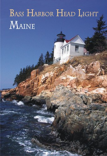 Bass Harbor Head Light, Maine, ME, Lighthouse, Acadia National Park, Mount Desert Island, Travel, Souvenir, Locker Magnet 2 x 3 Fridge Magnet